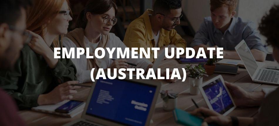 Employment Update (Australia)